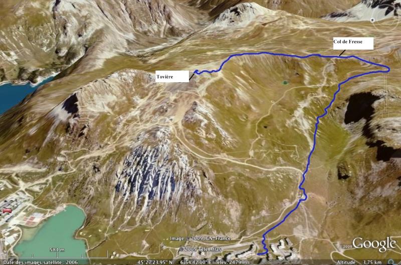 Val Claret - Col de Fresse - Crêtes - Lavachet Lescre10