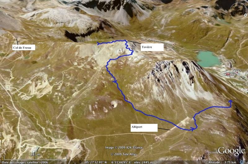 Val Claret - Col de Fresse - Crêtes - Lavachet Lescre11