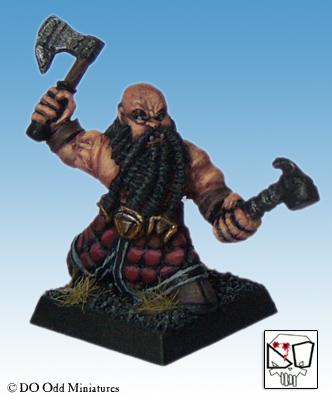 Black Dwarf warband Dwarf110
