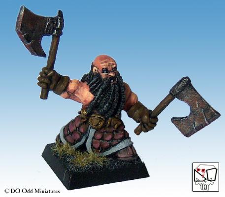 Black Dwarf warband Dwarf210