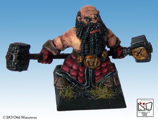 Black Dwarf warband Dwarf310