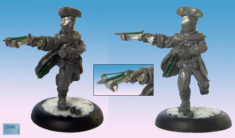 hunter - First Sculpt: Head Hunter Ty10