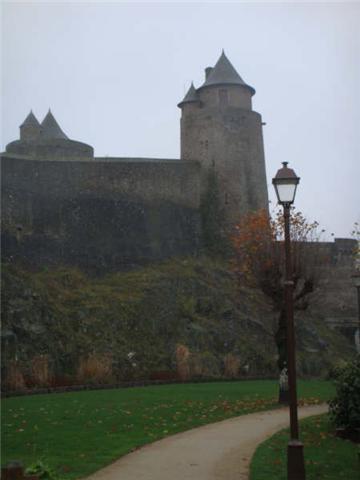 Le château de Fougères 1110