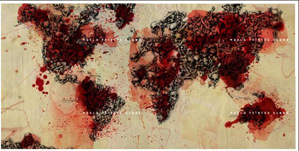 cover de world paint in blood ! L_b4fa10