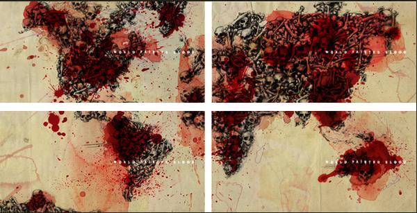 cover de world paint in blood ! L_cc1610