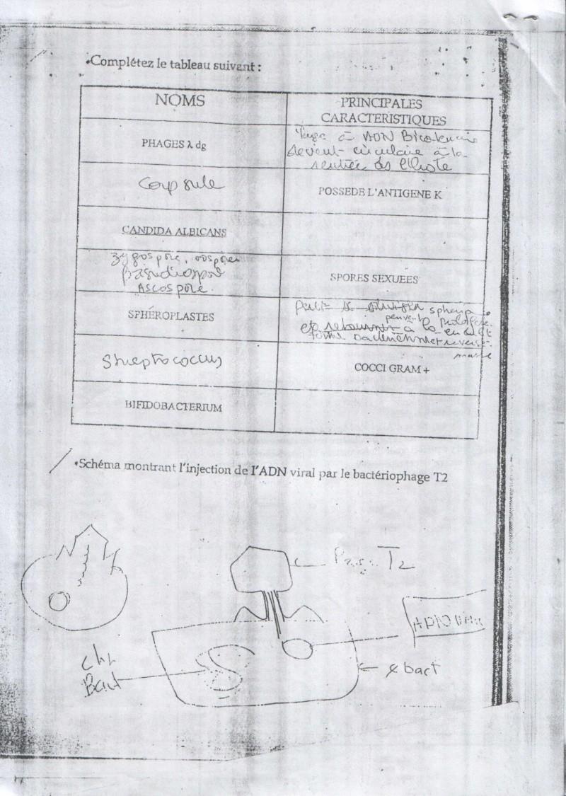 sujetsd'examens de micro ^_^ 2010