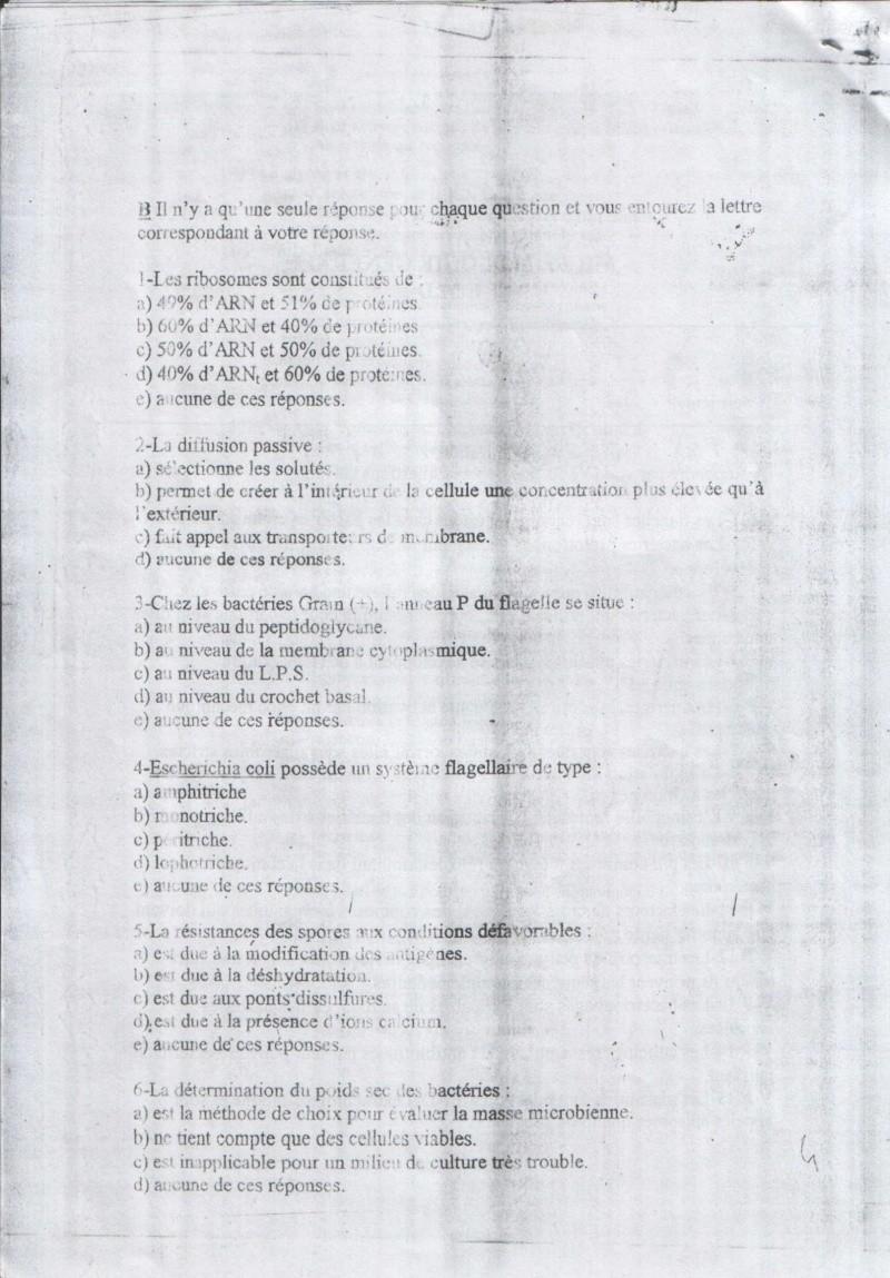 sujetsd'examens de micro ^_^ 2610