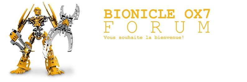 BIONICLE OX7 FORUM