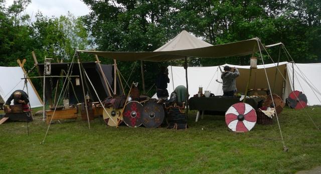 Journées Vikings archéosite de Marle - Mai 2009 P1090711