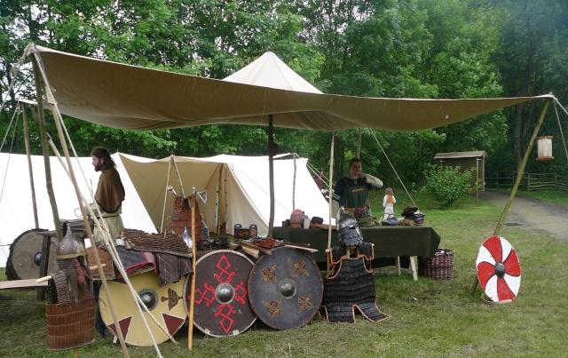 Journées Vikings archéosite de Marle - Mai 2009 P1090712
