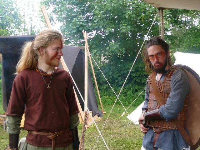 Journées Vikings archéosite de Marle - Mai 2009 P1090714