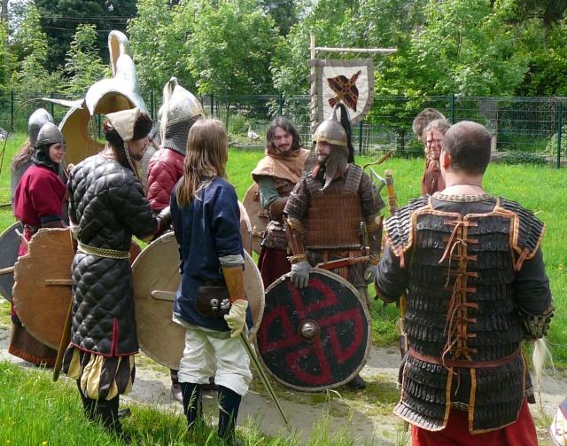 Journées Vikings archéosite de Marle - Mai 2009 P1090810