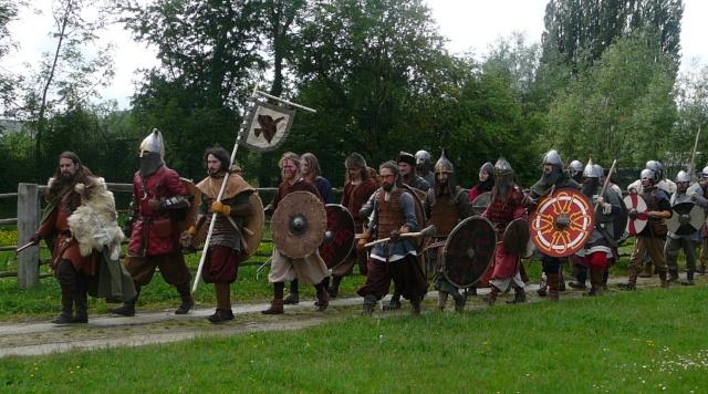 Journées Vikings archéosite de Marle - Mai 2009 P1090811