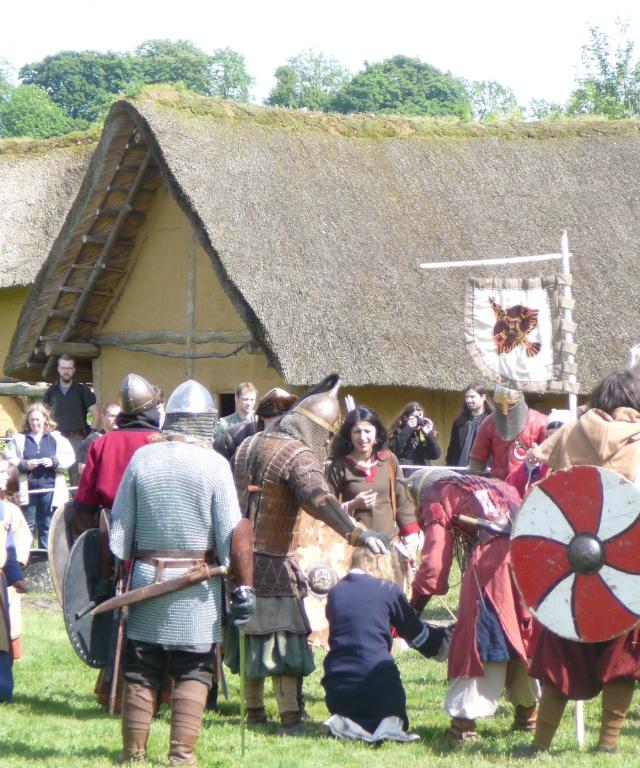 Journées Vikings archéosite de Marle - Mai 2009 P1090813