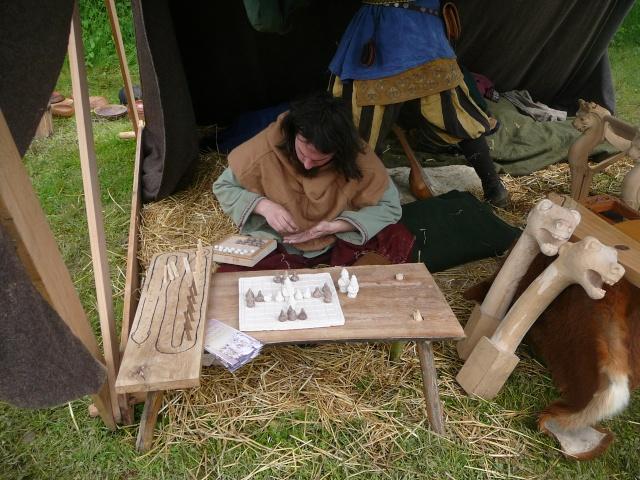 Journées Vikings archéosite de Marle - Mai 2009 P1100010