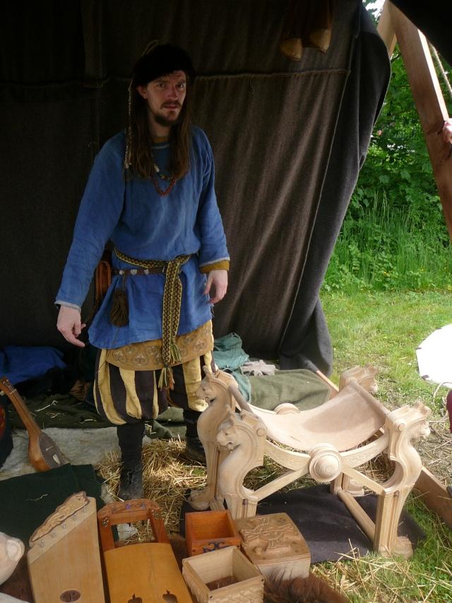 Journées Vikings archéosite de Marle - Mai 2009 P1100011