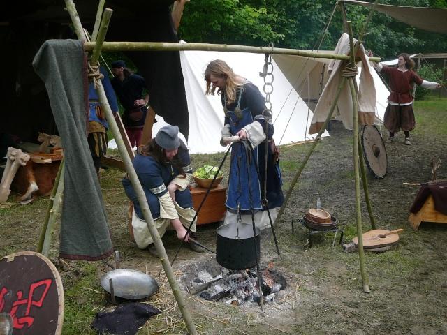 Journées Vikings archéosite de Marle - Mai 2009 P1100012