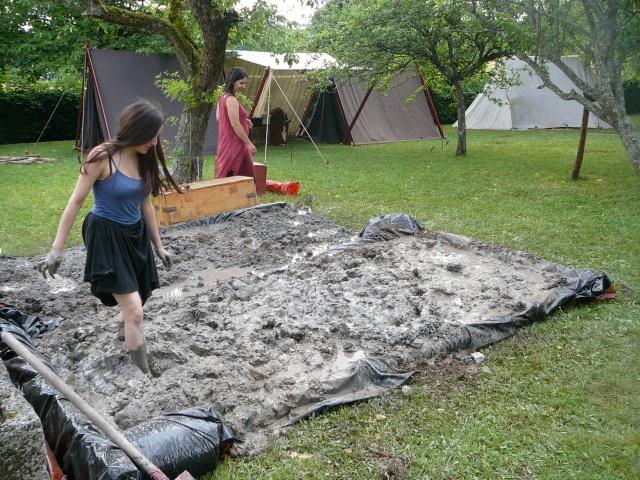 Expérimentation maison an mil - Juillet 2009 P1100613