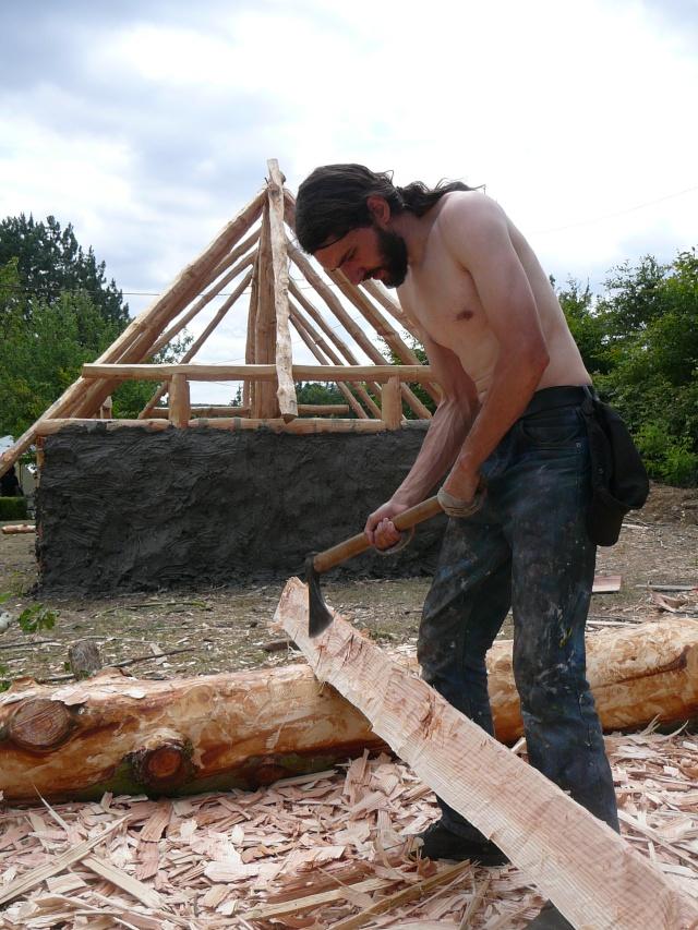 Expérimentation maison an mil - Juillet 2009 P1100816