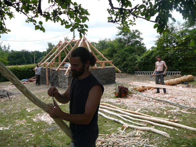 Expérimentation maison an mil - Juillet 2009 P1100817