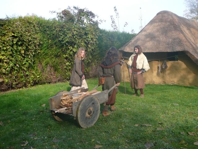Samain à l'archéosite de Marle - Octobre 2009 P1120416
