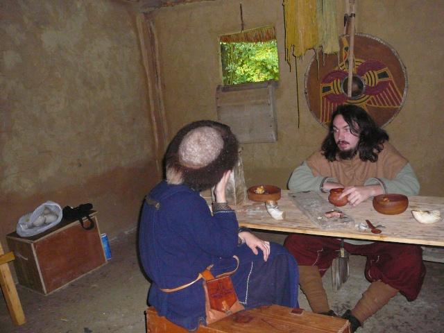 Samain à l'archéosite de Marle - Octobre 2009 P1120512