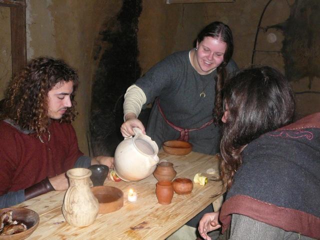 Samain à l'archéosite de Marle - Octobre 2009 P1120513