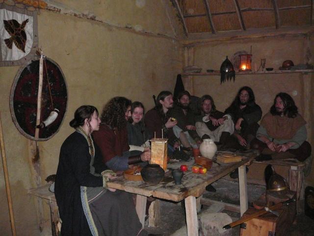 Samain à l'archéosite de Marle - Octobre 2009 P1120514