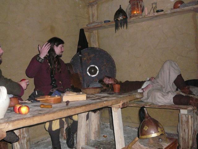 Samain à l'archéosite de Marle - Octobre 2009 P1120515
