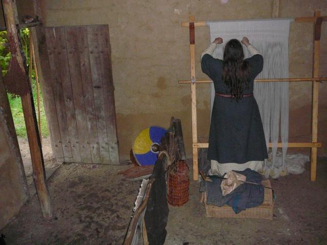 Samain à l'archéosite de Marle - Octobre 2009 P1120516