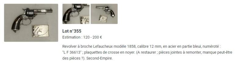 """remise en état d'un """"lefaucheux Mle 1854 modifier par Léon Leroux"""" Inked110"""