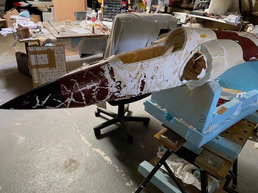 avion - Reconstruction d'un avion en Airex Pasted10