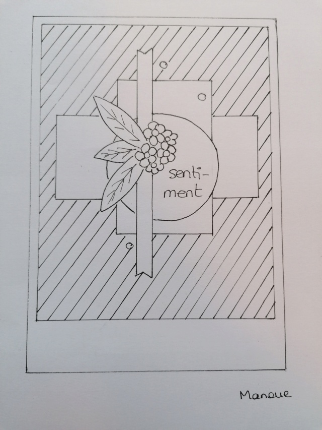 Sketch de carte - Avril 2021 410