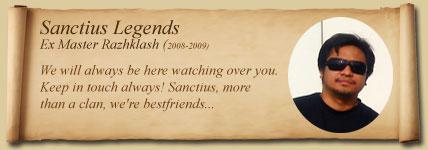 Sanctius' SCANDALS Raz10