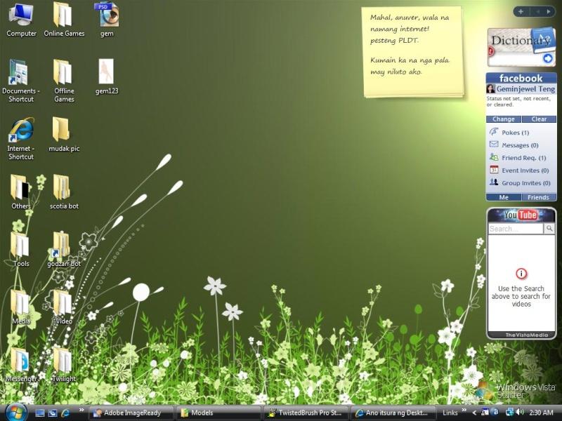 Ano itsura ng Desktop mo? Vsta10