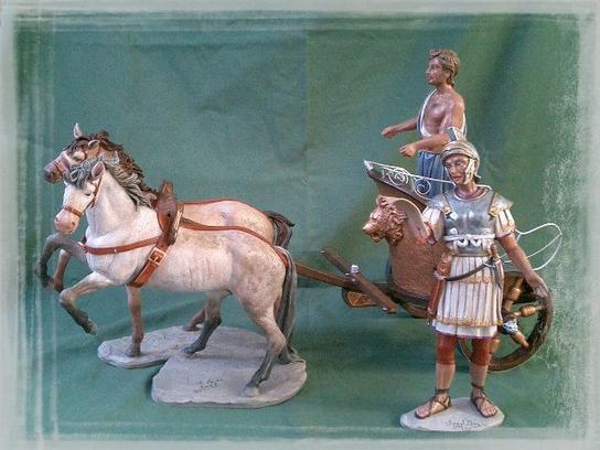 Romanos con carros Biga_d10