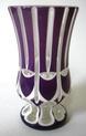 Purple/white flashed vase - Bohemian? Img_2015