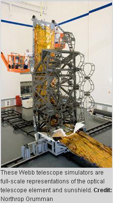 Mise au point du James Webb Telescope Simula10