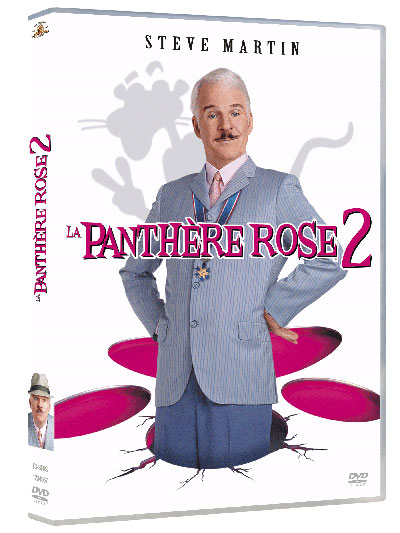 """Sortie DVD """" La panthère rose 2 """" 37002510"""