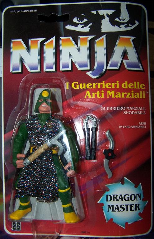 NINJA WARRIORS / Ninja  (Hasbro) 1986-1987 Ninja-10