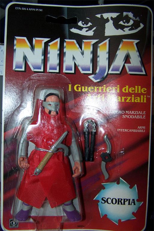 NINJA WARRIORS / Ninja  (Hasbro) 1986-1987 Ninja-11