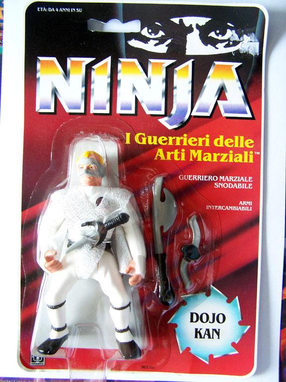 NINJA WARRIORS / Ninja  (Hasbro) 1986-1987 Ninjad10
