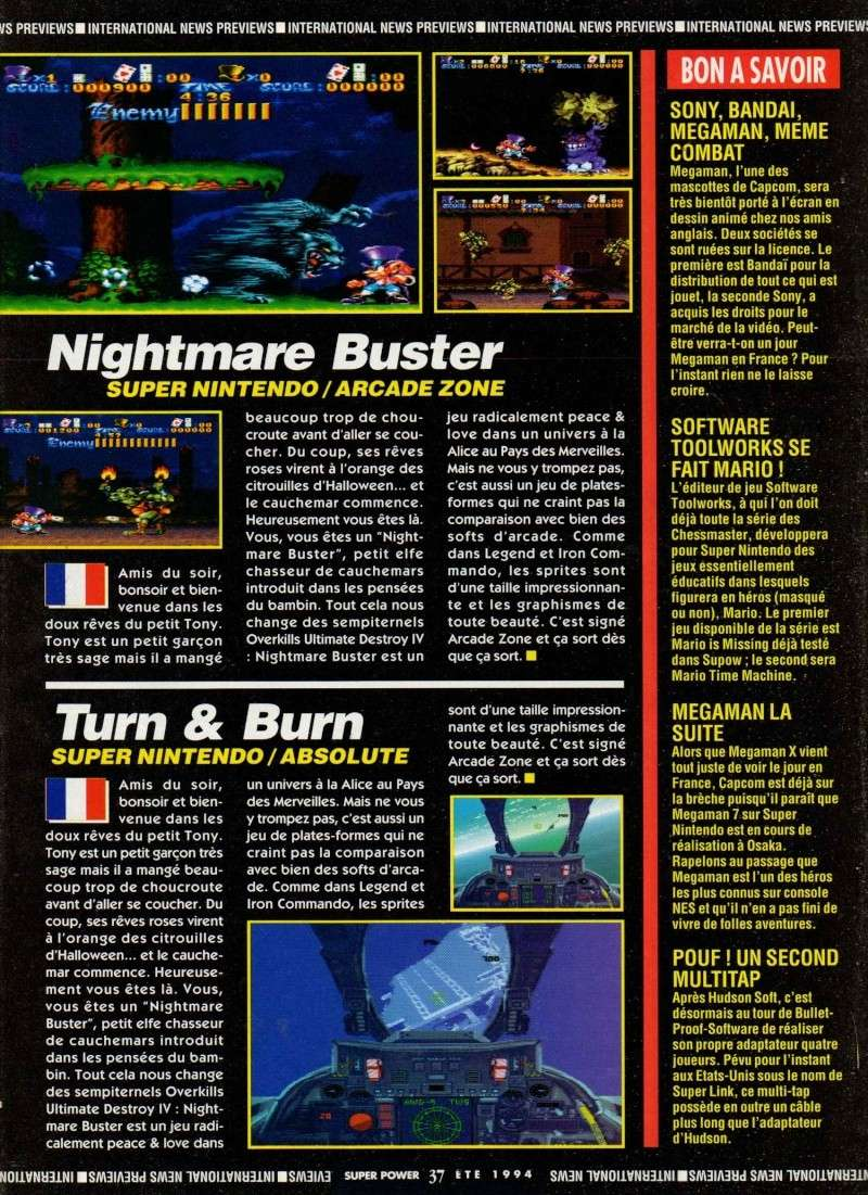 [Bit TV]   RETRO GAME TEST   Nightmare Busters. - Page 2 Supow_10