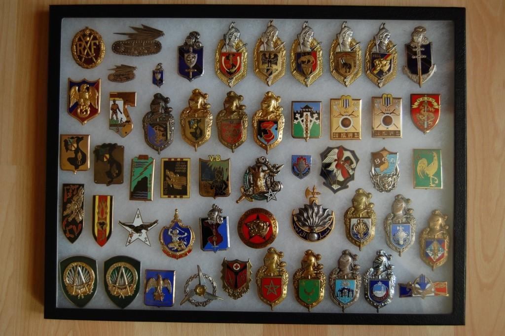 Vitrines d'insignes Insign17