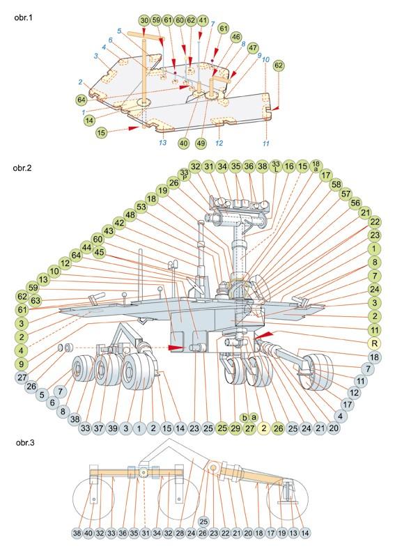 maquette Mars Exploration Rover ech 1/3 - Page 2 Phpiz110