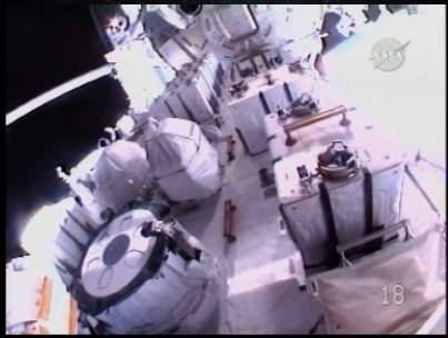 [STS-127: Endeavour] EVA 3 Sans_122