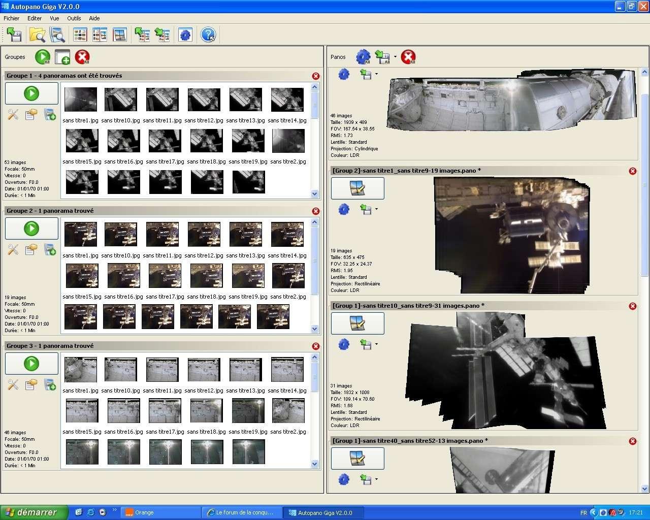 Quelques panorama des missions STS Sans_130