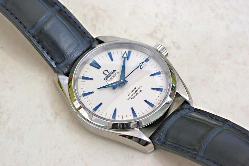 Bracelet pour Aquaterra aiguilles bleues Aqua110