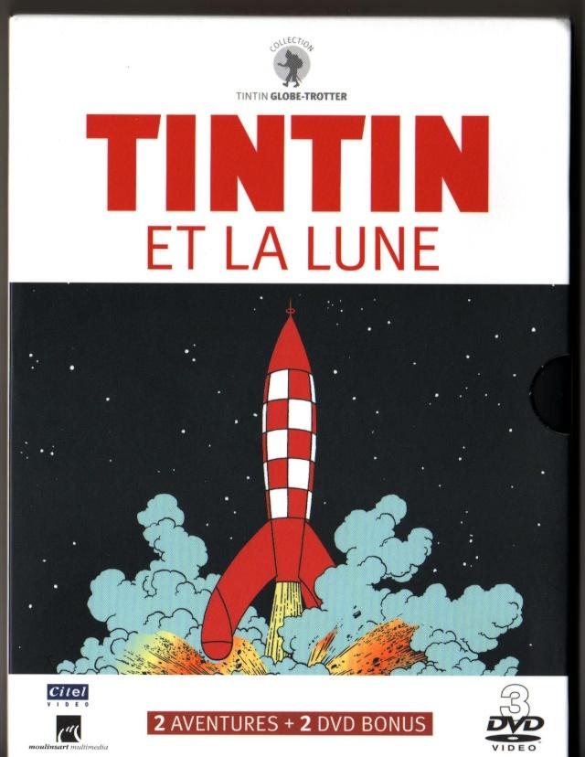 DVD Tintin et la Lune Tintin12
