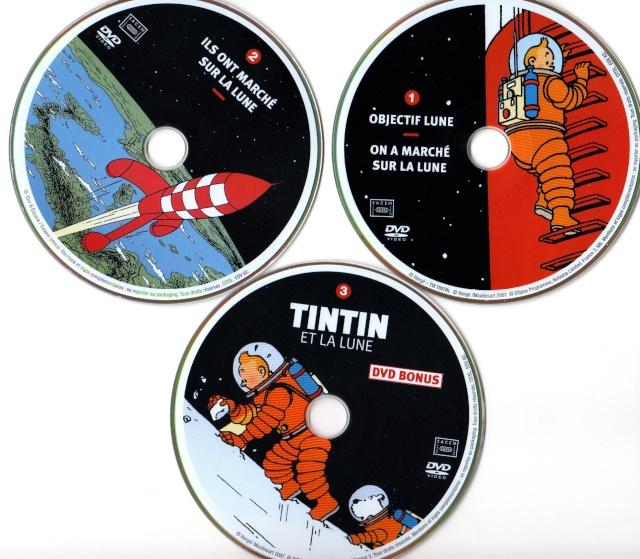 DVD Tintin et la Lune Tintin13